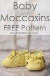 Anleitung Baby Moccasins aus Leder nähen