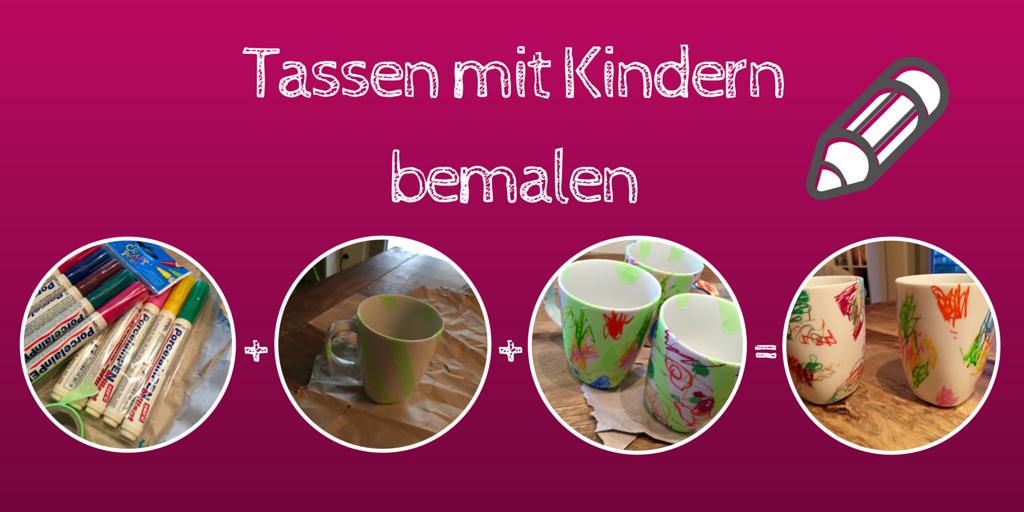 tassen porzellan mit Kindern bemalen