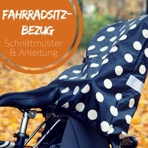 Kostenloses Schnittmuster – Überzug für Fahrradsitz