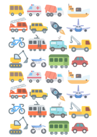 poster kinderzimmer autos