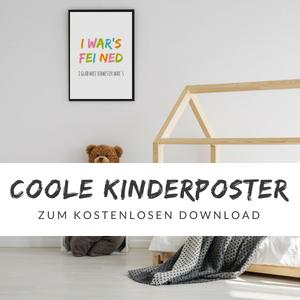 Bayrische Bilder für\'s Kinderzimmer - Freche Sprüche zum ...